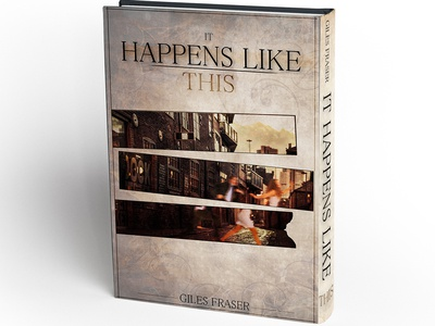 "Design for romantic novel ""It Happens Like This"""