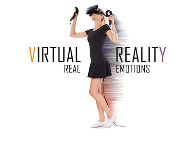 VIRTUAL REALITY / REAL EMOTION Branding Design