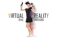 VIRTUAL REALITY / REAL EMOTION Branding Design