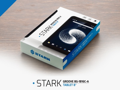 STARK Tablet - Front Box-Design Presentation