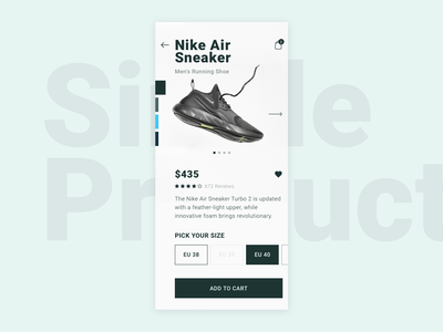 Single Product | Daily UI