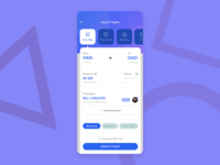 Flights Search | Daily UI