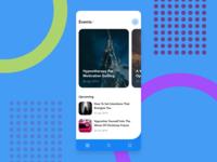 Event List | Daily UI