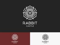 Rabbit Castle Logo - Mandala