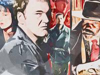 Quentin Tarantino Illustration