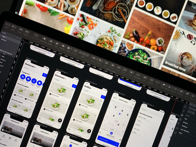 Food points UI movie web mobile responsive service dribbble cuberto landing sketch interface illustration icons graphics website ios design app ui ux vector