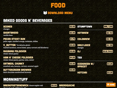 Sbk New Menu food web design webdesign ui design web texture type