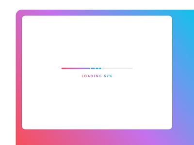 Daily UI 086 :: Progress Bar gradient ui progress bar progress day 086 daily ui 086 daily ui 086