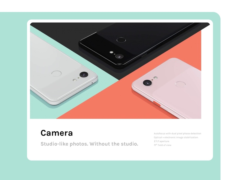 Daily UI 095 :: Product Tour google pixel ui day 095 095 daily ui 095 daily ui