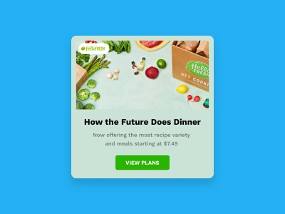 Daily UI 098 :: Advertisement popup advertising ui day 098 daily ui 098 daily ui