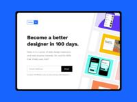 Daily UI 100 :: Daily UI Landing Page