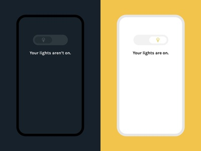 Daily UI 015 :: On/Off Switch