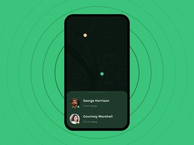 Daily UI 020 :: Location Tracker