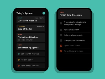 Daily UI 042 :: ToDo List