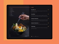 Daily UI 043 :: Food Menu