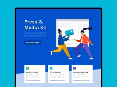 Daily UI 051 :: Press Page