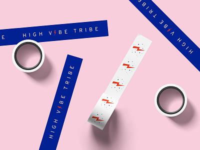 High Vibe Tribe Brand Collateral brand identity branded collateral brand collateral stationery collateral icon logo logo design branding artwork illustration design vector