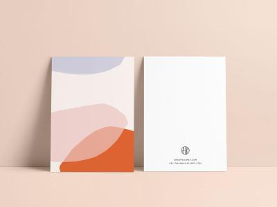 Anna Wassmer Brand Collateral Piece logo logo design brand identity brand design stationery collateral design artwork branding illustration