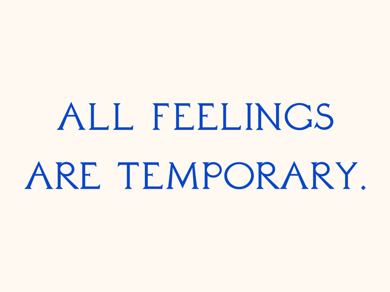 All feelings are temporary. type design typedesign art type art typography type vector design