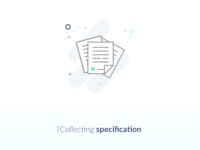Collecting Specification Icon