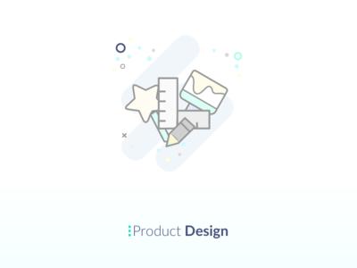 Product Design Icon paint dimensions website pencil design specification logo illustration icon desktop board app