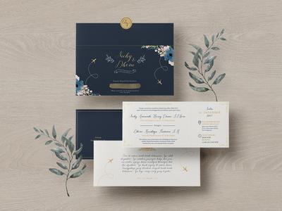 Nicky & Dhoni's Wedding Invitation