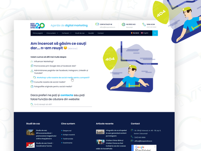 404 Error | Agency Website error lime purple blue branded icons 404 error page webdesign clean minimal ux ui colorful simple illustration web website design website 404 error 404