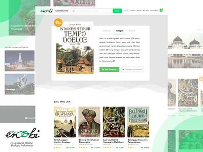 Enobi encyclopedia indonesian design ux ui web culture