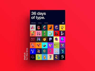 36 days of types typography layout graphicdesign design