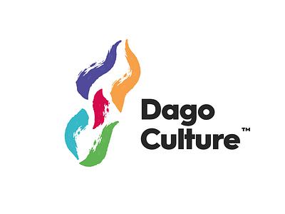 Dago Culture icon illustration flat vector logo