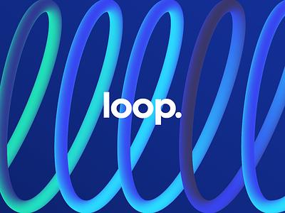 Loop gradients design vector