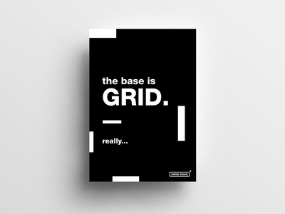 Dribbble Poster Template swissdesign posterdesign minimalism layoutdesign graphicdesign design typography