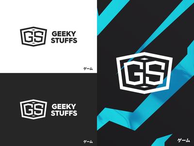 Geeky Stuffs Logo graphicdesign branding vector logo