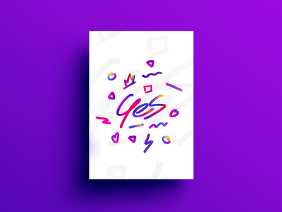 Yes design graphicdesign