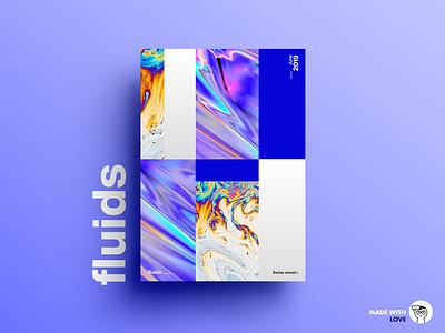 Fluids graphicdesign design