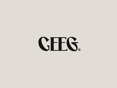 CEEG fashion brand identity logos logotype typography vector logo branding