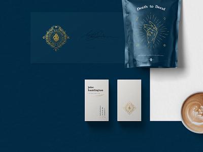 WOKE - Roasted Society design illustration logo branding