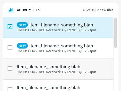 filename_something.blah data file explorer workflow dashboard ui