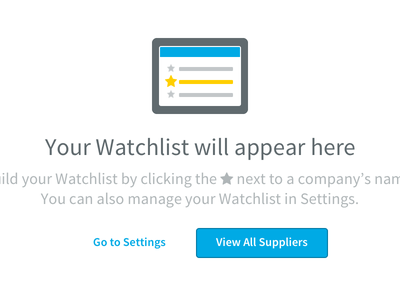 Empty State settings list ui buttons onboarding empty