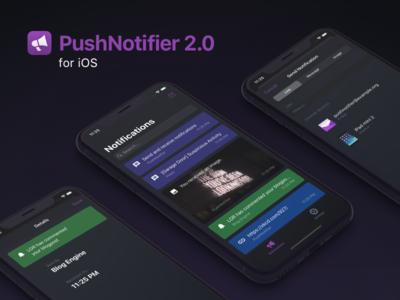 PushNotifier 2.0 for iOS ui design ios app design app ios