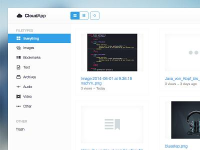 CloudApp - A Better Webclient cloudapp web client php ui ux frontend