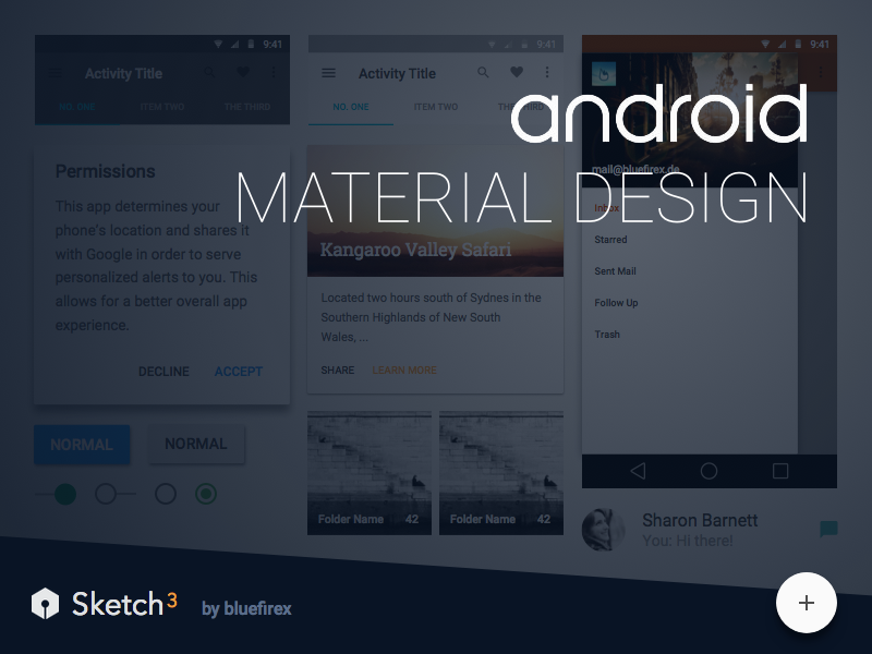 Material Design.sketch material design google android sketch svg resource freebie