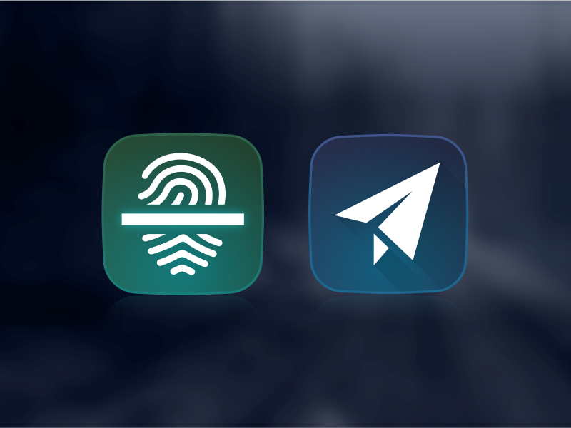 Icons made in Sketch telegram fingerprint scanner icon sketch freebie