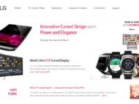 Lg  homepage