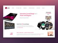 [Mockup] LG Website