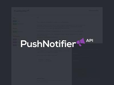 PushNotifier - APIv2 Documentation help doc documentation api pushnotifier