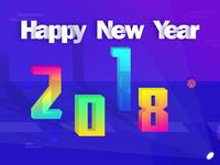 2018, happy New Year!