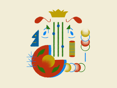 Letter J - 36 days of type letter j typography type flat design illustration