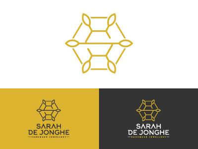 Sarah de Jonghe Logomark identity design logo design