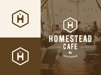 Homestead Cafe - Logo Design